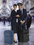 Flight Crew with Travelpro luggage