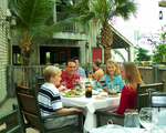 Family Dines at Old Hickory Steakhouse at Gaylord Palms Resort