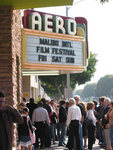 Screenings at the Aero Theater, Santa Monica