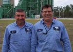 "Martin Garcia and Steve ""Toe"" McClaugherty"