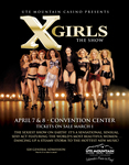 X Girls - The Show Poster. Live at Ute Mountain!