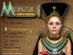 Mosaic Title Screen