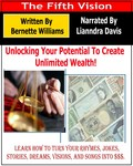 "cover for ""Unlocking your potential for creating unlimited wealth"