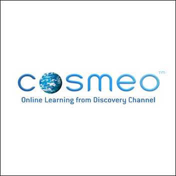 Logo for Cosmeo by The Discovery Channel