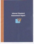 Cover of the Internet Standards Assessment Report (ISAR)