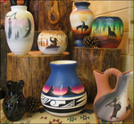 Retailers and gift shop owners are discovering the lure of Southwestern art exists not only within the United States, but also with International tourists who prize the high quality craftsmanship of Native American pottery from Cedar Mesa.