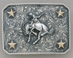 Chet Vogt The Roundup Bucking Horse Buckle