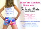 Francie Pants Postcard