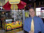 Jim Silverman of Atlanta is on a 'red hot' career path, selling Chicago-style hot dogs at Vienna Beef.