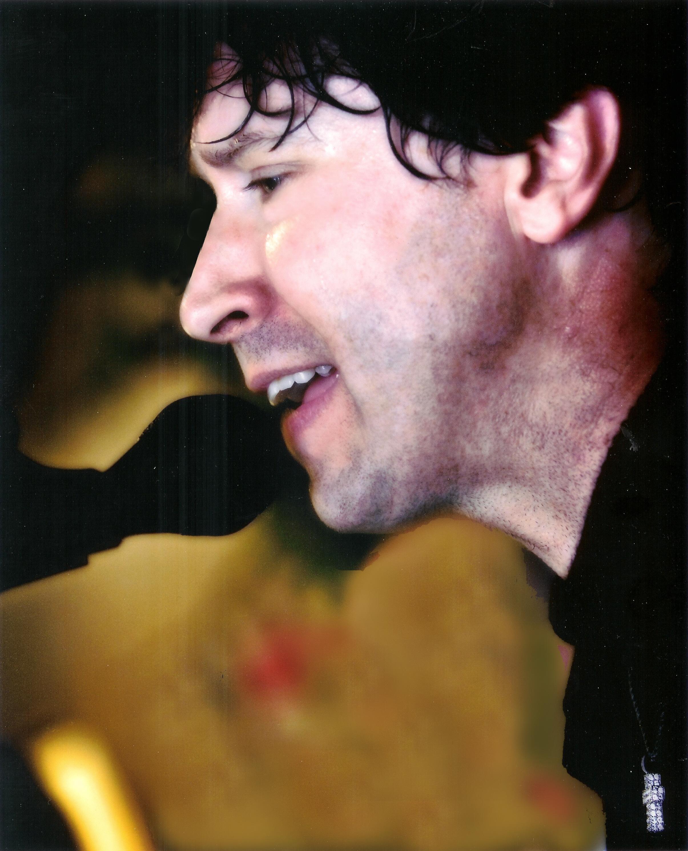 Californian band Sex On Sunday's Lead Singer Scott West.
