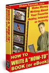 How To Write A How-To Book (or eBook) - cover