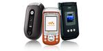 Motorola PEBL, Samsung A900, Sony Ericsson W600 at Wirefly.com