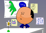 Karl 'Cult Icon' Pilkington in his animated glory.