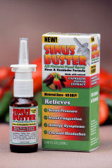 Sinus Buster Pepper Nasal Spray Equalizes Springtime Allergies