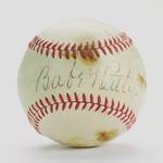 Babe Ruth ball.
