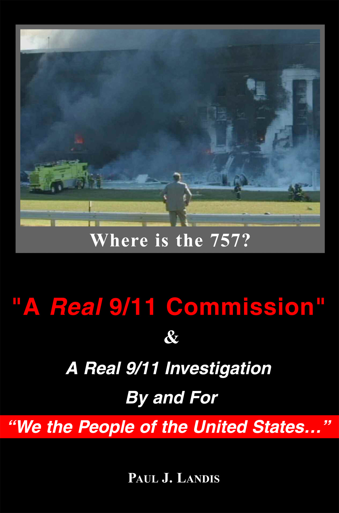 """New cover for """"A Real 9/11 Commission"""""""