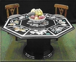 A Tabletop in Black Marble