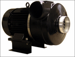 A new design that harnesses an industrial blower directly to a high-speed motor capitalizes on the advantages of fewer moving parts.