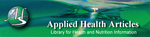 Applied Health Articles Directory