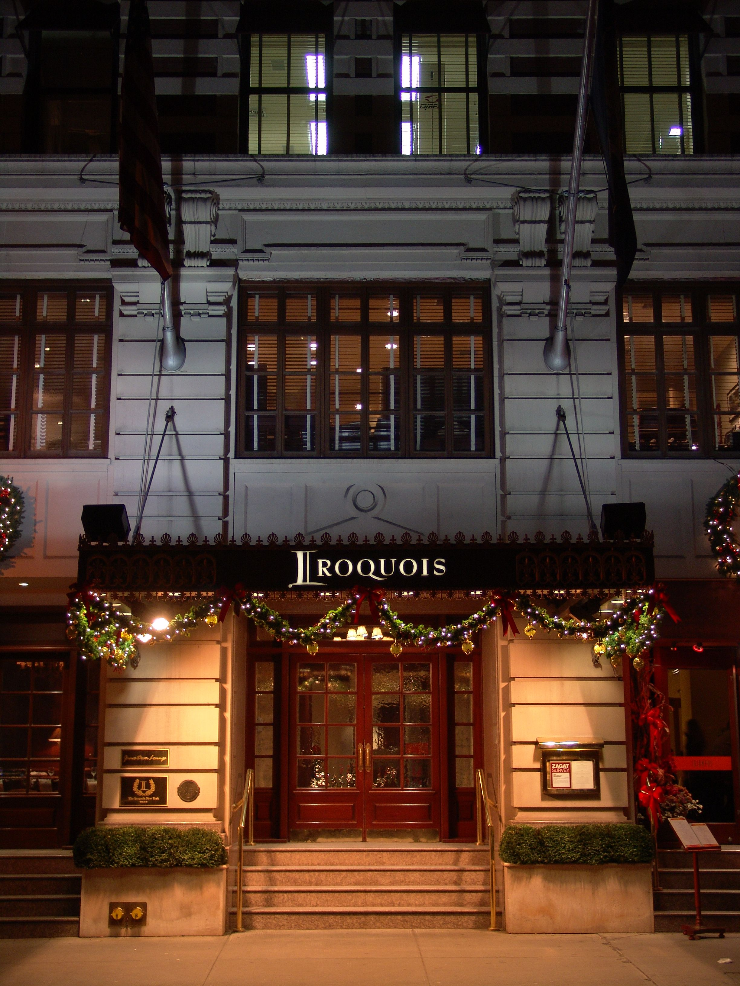 The Iroquois New York Installs Signeture Tv Hd From