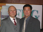 (L-R) Roger Hu and Alex Yuan