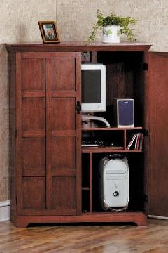 Maximize Space With Quality CraftsmanshipThis Arts And Crafts Style Armoire Is An Ideal Solution For Spaces That Serve Multiple Functions Throughout The