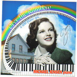 Judy Garland on, Over the Rainbow, front cover with childhood home, Grand Rapids, Minnesota