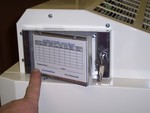 Opening Doc in the Box on portable HEPA