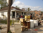 FlyAway Team Removing Debris & Items From Home