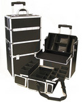 Pro Aluminum Makeup Case Black