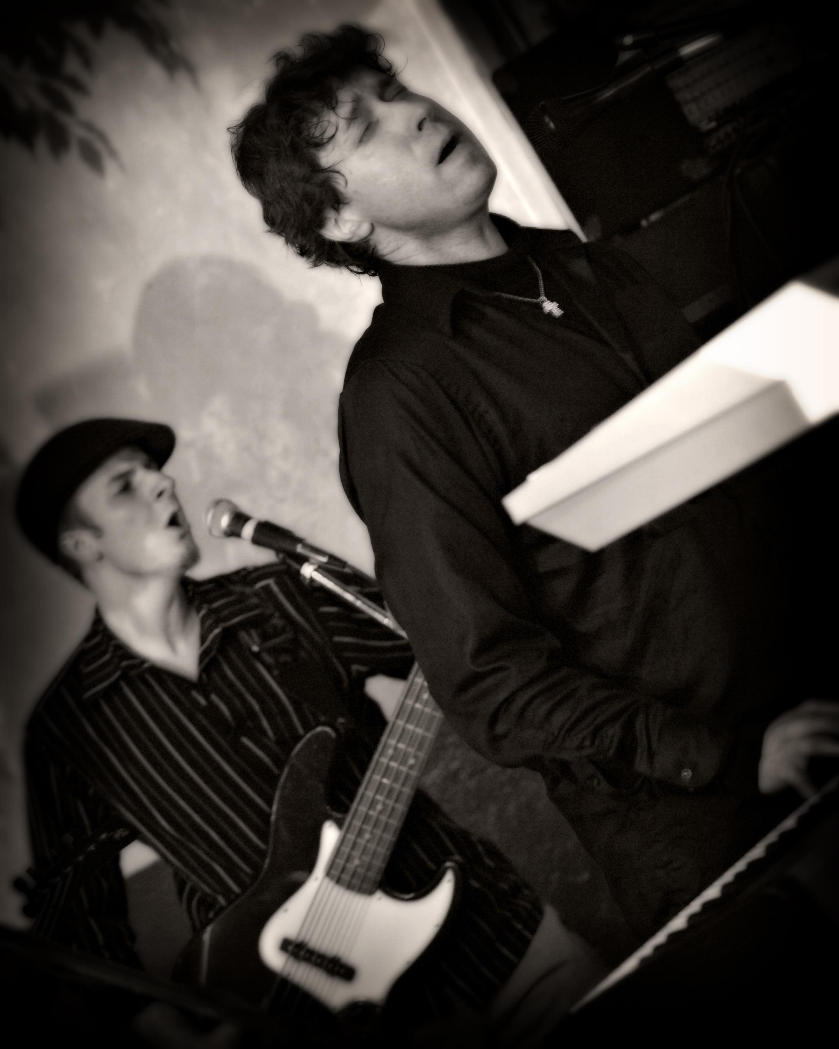 "Sex On Sunday's Scott West (Keys) & Mike ""Megavoice"" LePlante. photo Jon-Nolan Photography"