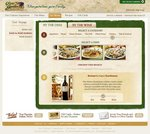Olive Garden's Food & Wine Pairing Tool: View this feature of the newly redesigned Web site at www.olivegarden.com/wines/food_wine