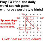 OTAir TXTfind Game Promo Ad