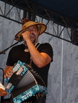 Terrance Simien, who is leading the effort to establish a Zydeco and Cajun Grammy category, plays opening day of N.O. Jazz Fest