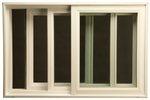New AMSCO Windows Serenity Series sound control window - Horizontal Slider, exterior