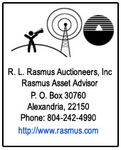 R.L. Rasmus Auctioneers was founded in 1981