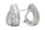 Exquisite Jewelry Leasing: Authentic diamond earrings