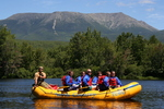 Spectacular Scenery on a Raft Trip in Maine