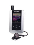 Samsung Helix XM Radio Receiver & MP3 Player