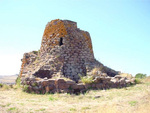 View of a Nuraghe