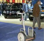 The Segway turned heads at New York International Auto Show.