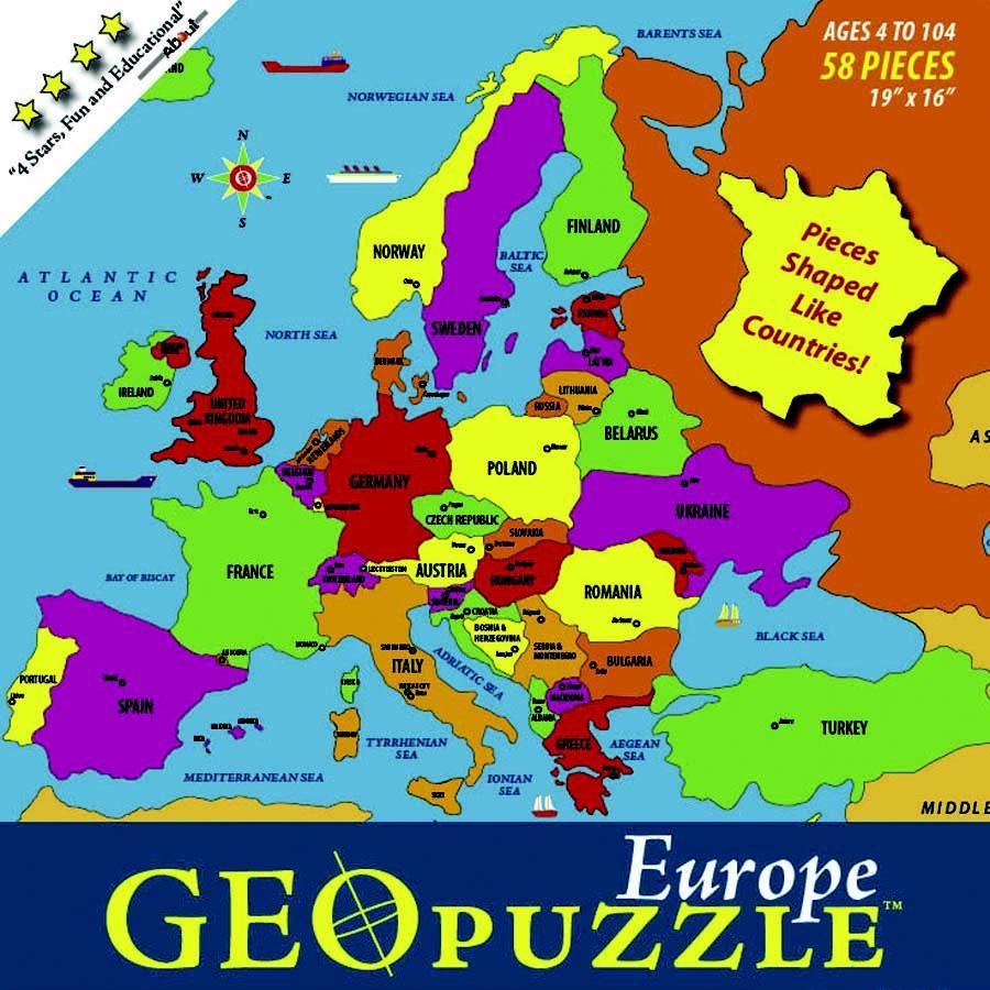 GeoPuzzle Europe