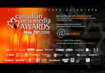 Canadian New Media Awards 2006 Postcard