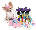Peluche with a Birthday Gift Set for Little Dogs