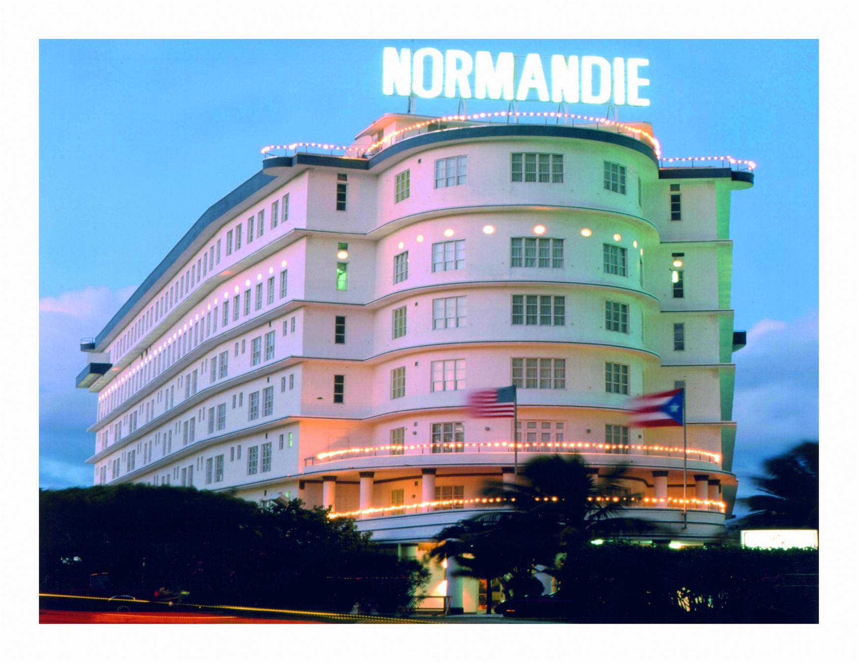 Normandie hotel for Hotel design normandie