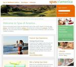 Spas of America Homepage