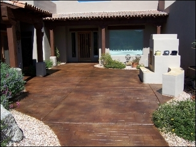 Decorative Concrete Stains Made From Bio Based Building Materials Meets  Environmental, Green Building And Design Objectives
