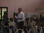 President Xanana Gusmao Addresses Audience at East Timor's NGO Summit