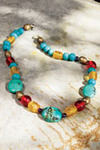 Turquoise Tribal Necklace Is A True Work Of Art
