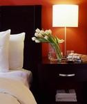 Exchange Hotel bedside